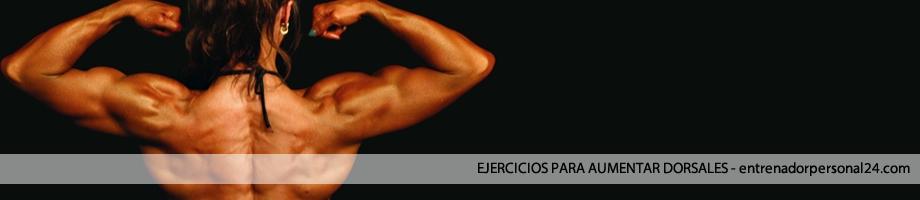 Ejercicios para entrenar dorsales