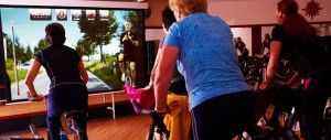 Clases colectivas de spinning Virtual