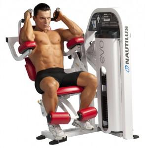 máquina para abdominales crunch