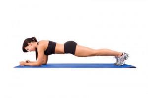 ejercicios isometricos para adelgazar en casa -plancha