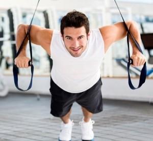 ejercicios trx flexiones
