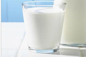 vaso de leche antes de acostarte