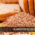 Carbohidrados, alimentos ricos en hidratos de carbono