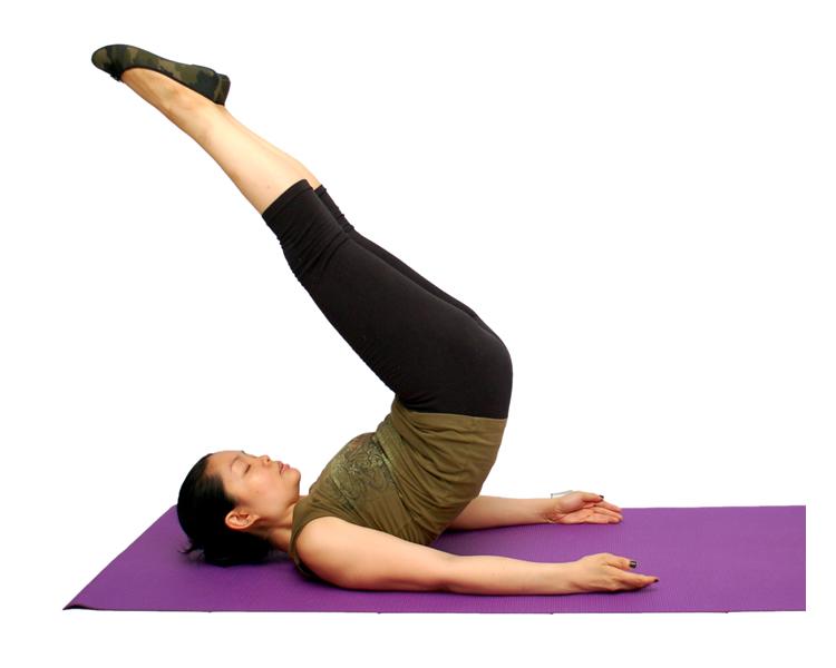 abdominales inferiores elevacion de cadera