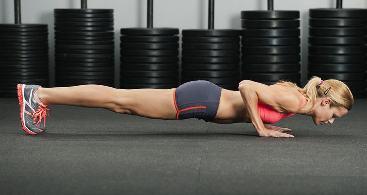 entrenamiento espartano flexiones