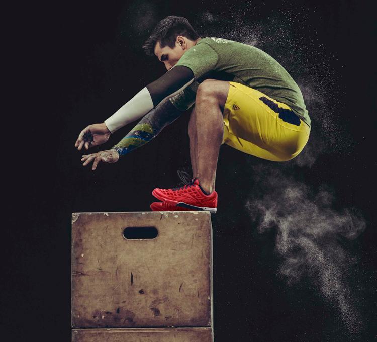 entrenamiento espartano salto cajon