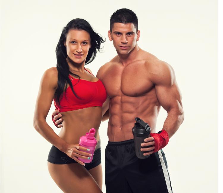 suplementos deportivos hombres y mujeres