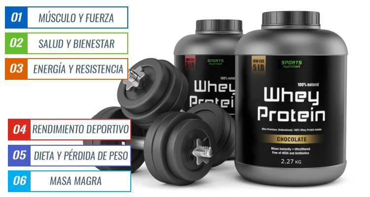 Top 10 suplementos para aumentar masa muscular