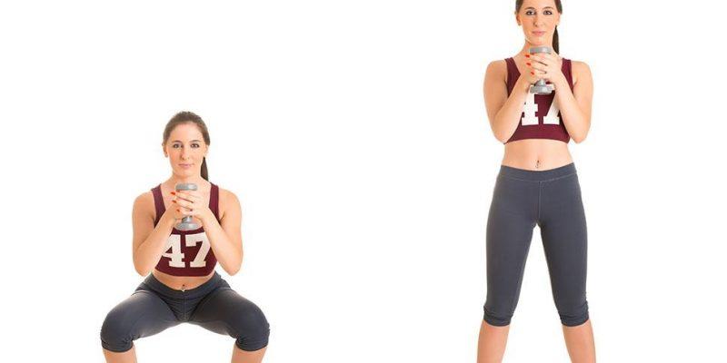 ejercicio sentadilla para fortalecer muslos internos