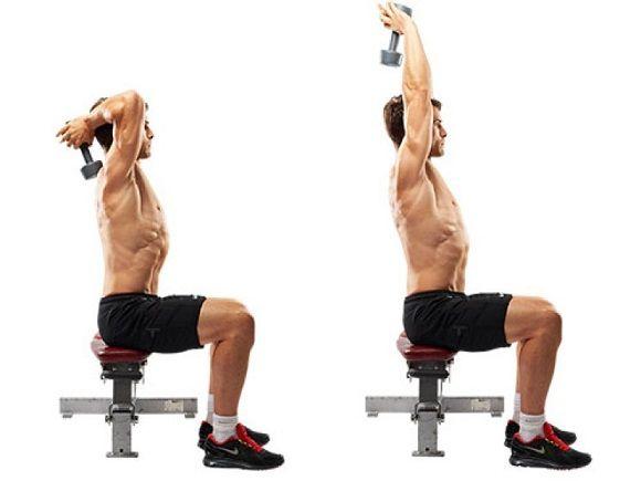 Hipertrofia para tríceps