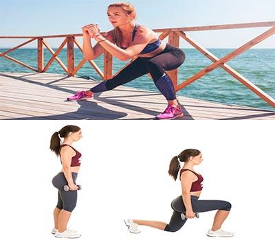 distintos ejercicios para aumentar el volumen de las piernas